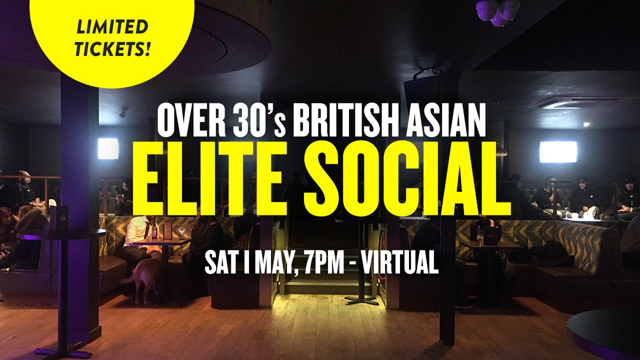 Over 30s British Asian Elite Social